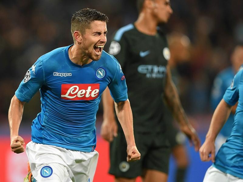 Manchester City en passe de boucler l'arrivée du Napolitain Jorginho
