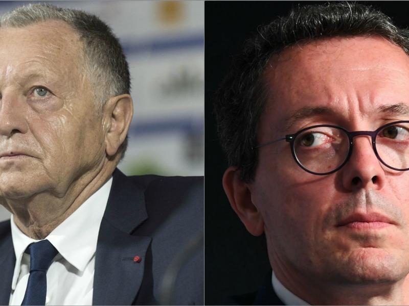"""OM-OL : Jacques-Henri Eyraud affiche son agacement : """"Provocation et Jean-Michel Aulas, c'est un pléonasme"""""""