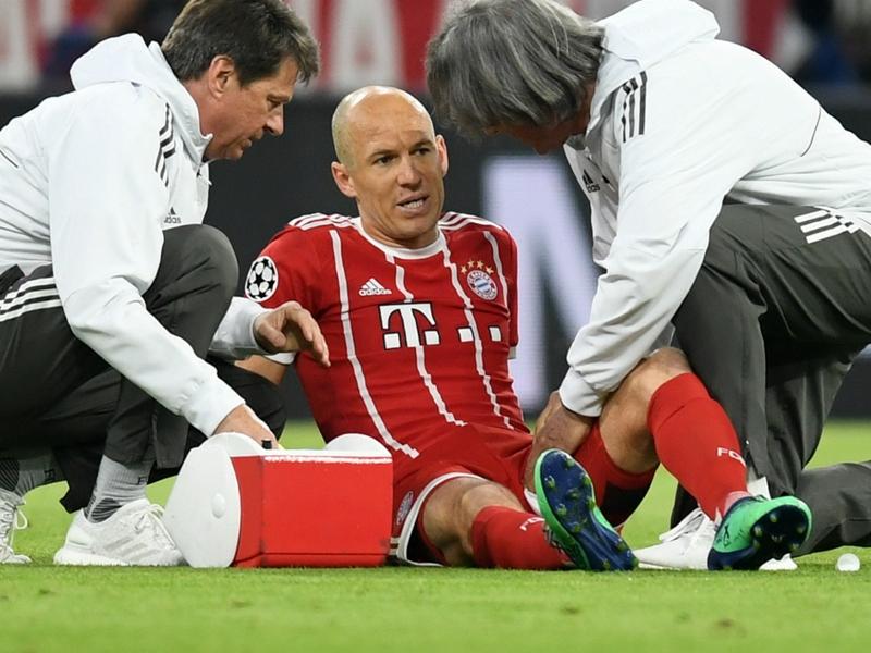 Arjen Robben absent avec le Bayern Munich face au Real Madrid en Ligue des champions ?
