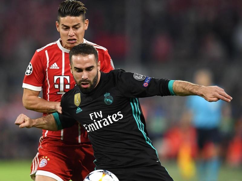 Real Madrid, Dani Carvajal forfait pour le match retour face au Bayern Munich