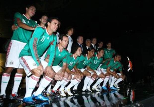 Mexico Unveil New Uniforms