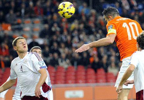 FT: Belanda 6-0 Latvia