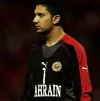 Hussain Harbi, Bahrain International