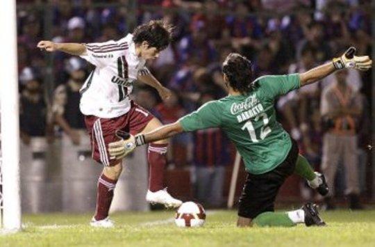 Dario Conca - Diego Barreto - Fluminense - Cerro Porteño (Globoesportes)