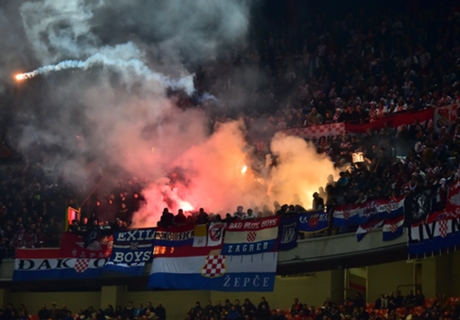 Croatia hit with partial stadium closure