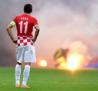 DIAPORAMA - Les incidents à San Siro lors de l'Italie-Croatie