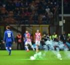 Gallery: Fireworks at Italy v Croatia