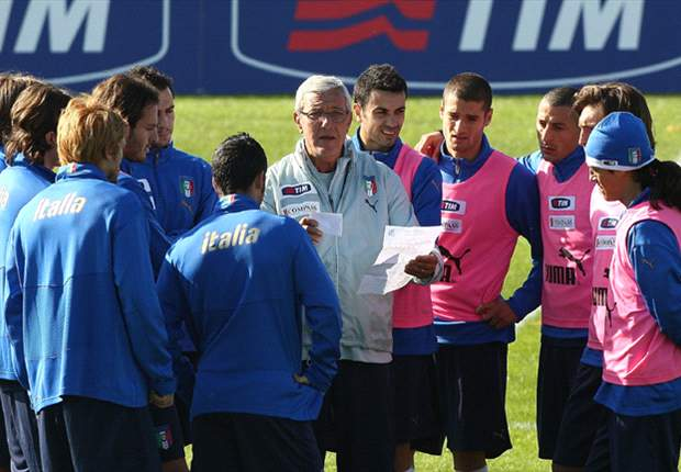 Marcello Lippi Reveals Italy - Netherlands Formation - Report