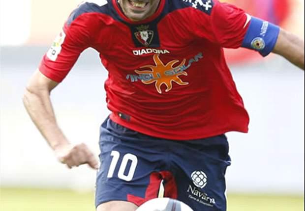 Patxi Punal, pahlawan Osasuna musim lalu.
