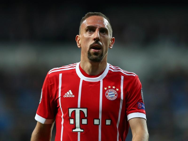 Franck Ribéry s'est blessé lors du stage du Bayern Munich à Doha