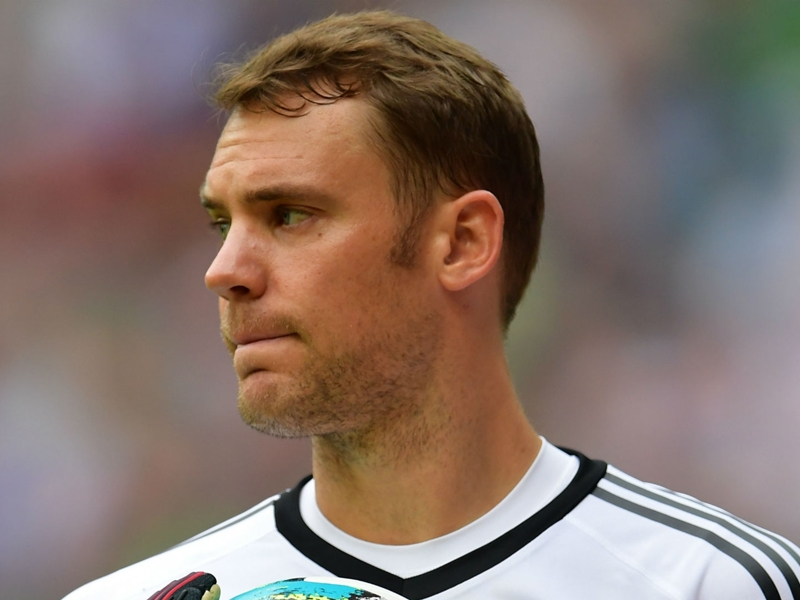 Germany boss Low upbeat over Neuer's World Cup hopes