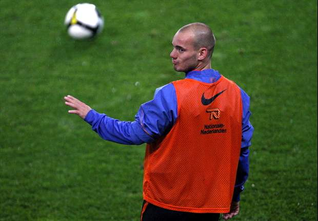 Inter Midfielder Wesley Sneijder Out For 10 Days - Report