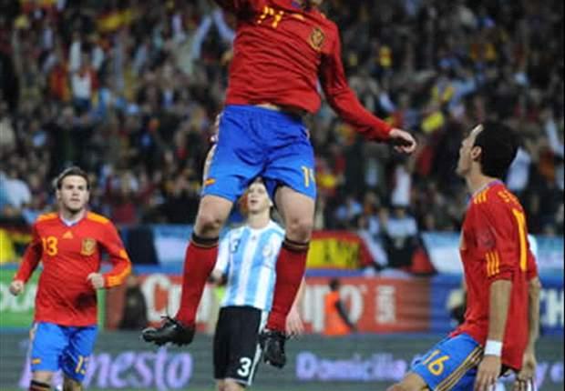 Spanien entscheidet Spitzenspiel gegen Argentinien für sich