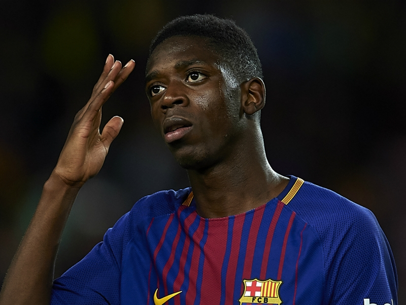 Dembele suffers sprained right ankle