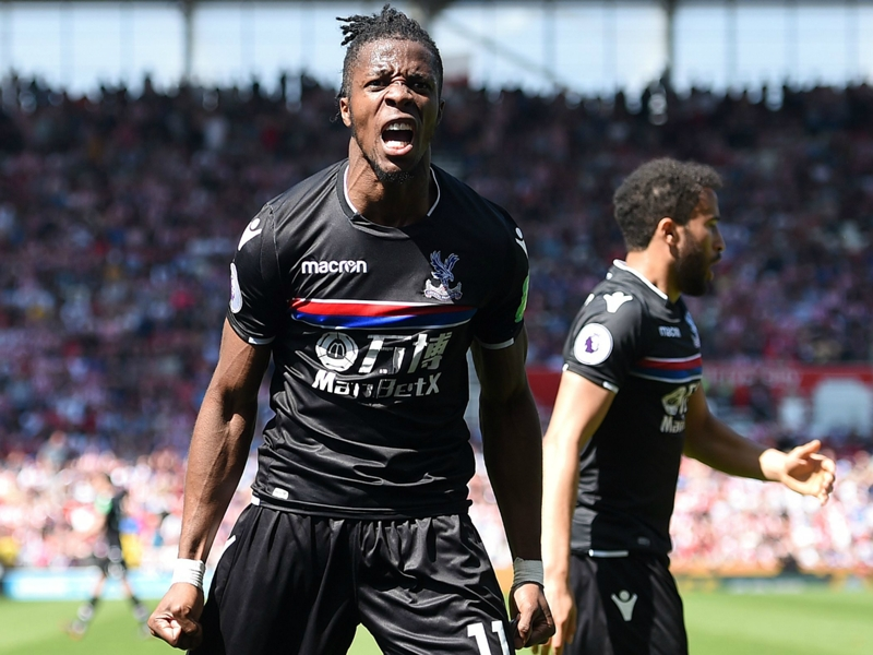Crystal Palace boss Roy Hodgson gives Wilfried Zaha's transfer update