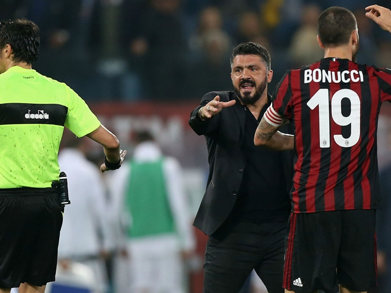'You pay for errors' - Gattuso disappointed after Coppa Italia letdown