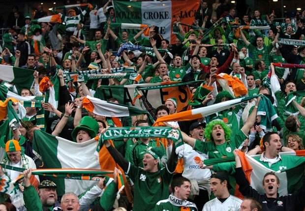 Ierse supporters ontvangen prijs van UEFA