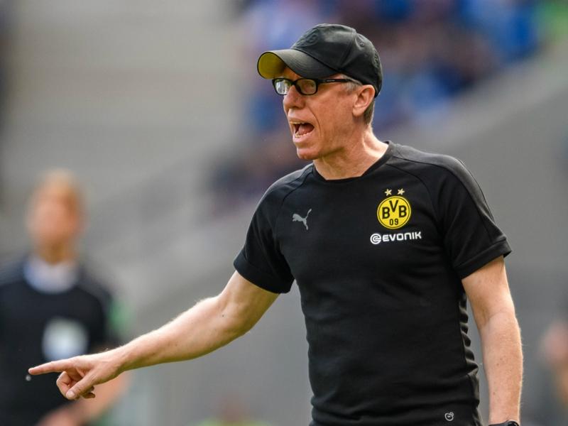 Stoger announces Borussia Dortmund exit after defeat to Hoffenheim