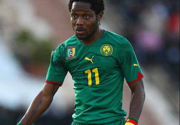 Jean Makoun scored a brace in Cameroon's 4-1 win over Tunisia