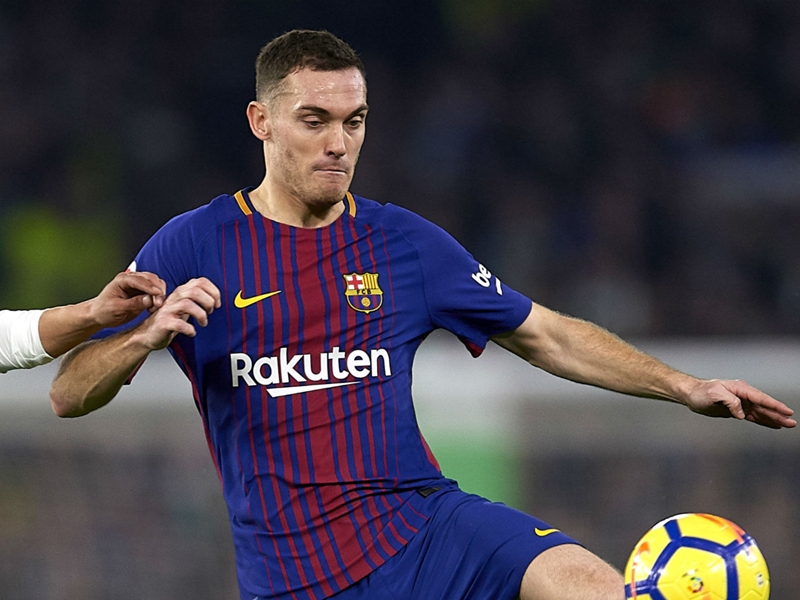 Injured Vermaelen ruled out of Barcelona's last game of the season