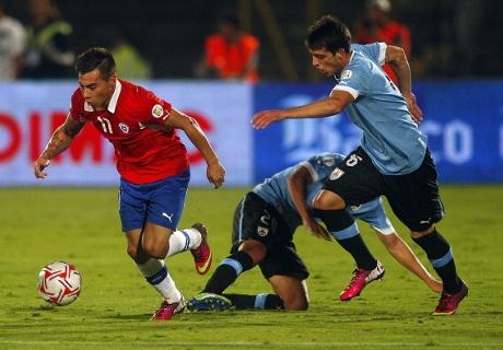 Chile y Uruguay van por un triunfo