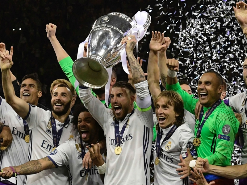 Real Madrid's incredible Champions League final record