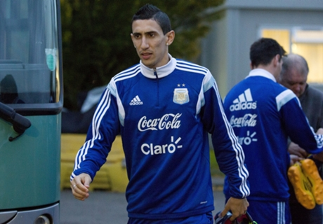 Martino not worried by Di Maria drought