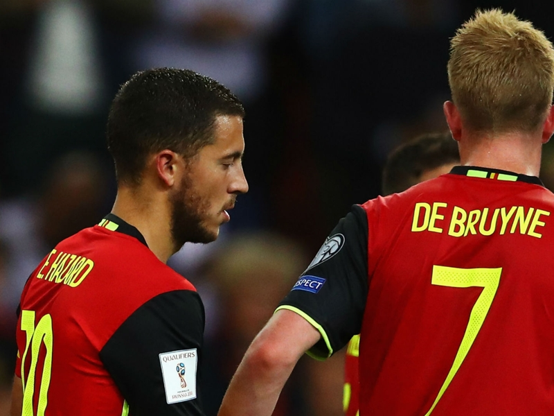 How Martinez is solving Belgium's Hazard & De Bruyne conundrum