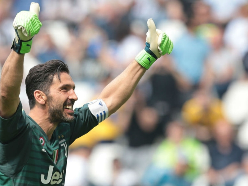 Juventus 2 Verona 1: Buffon signs off on a high