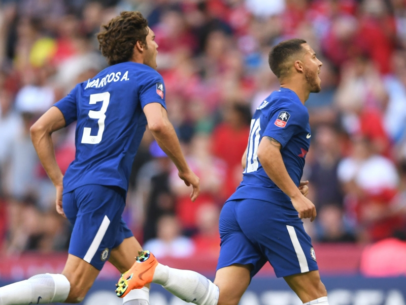 This is Hazard! Galactico Eden strikes Mourinho down as Chelsea rule at Wembley