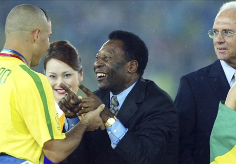 Zico: Ronaldo could have emulated Pele