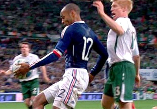 Referee who missed Thierry Henry handball quits full-time post
