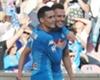 Napoli striker Arkadiusz Milik
