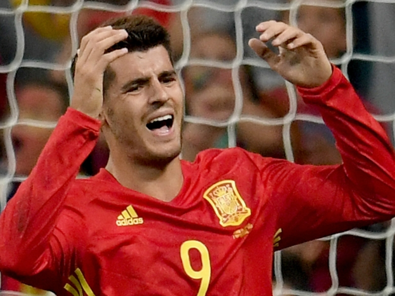 Morata misses out on Spain's 23-man World Cup squad