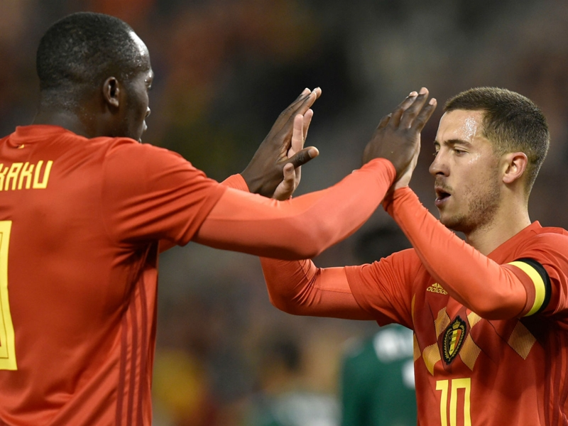 Belgium's 2018 World Cup squad: Who joins Hazard & Lukaku in tournament panel?