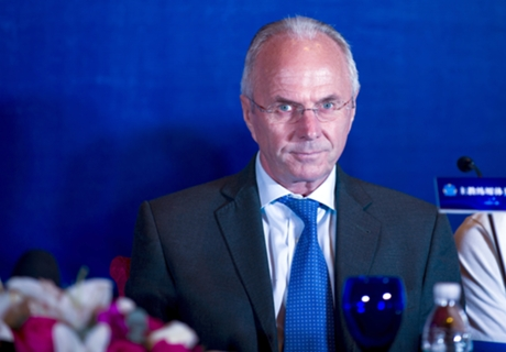 Shanghai SIPG unveil Eriksson