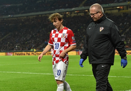 Modric: Three-month injury a real shock