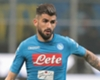 Napoli full-back Elseid Hysaj.