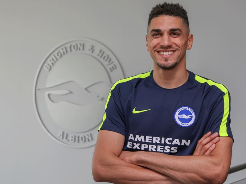 Leon Balogun joins English Premier League club Brighton and Hove Albion