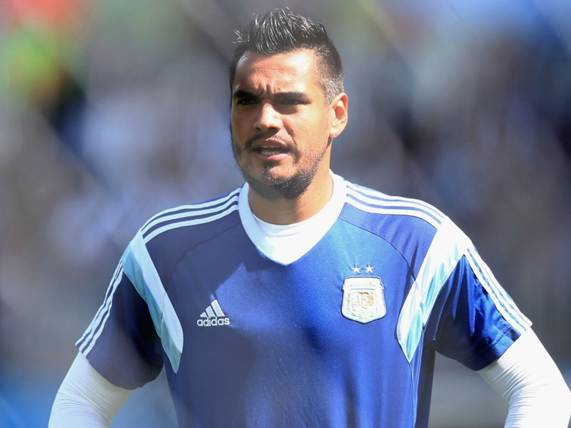 Argentina announce Man Utd goalkeeper Sergio Romero will miss World Cup through injury