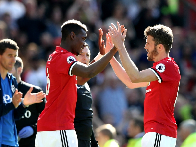 It's a silly question - Carrick insists Pogba has Man Utd future