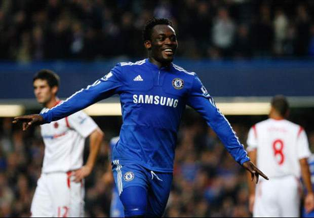Essien has been relegated to the bench