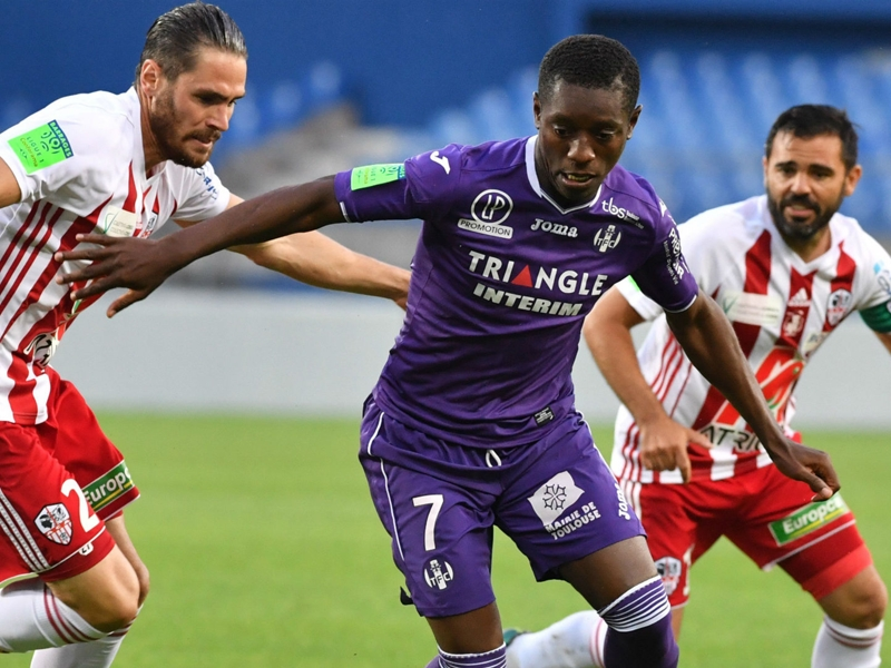 Ajaccio-Toulouse 0-3, le TFC bien parti pour assurer son maintien
