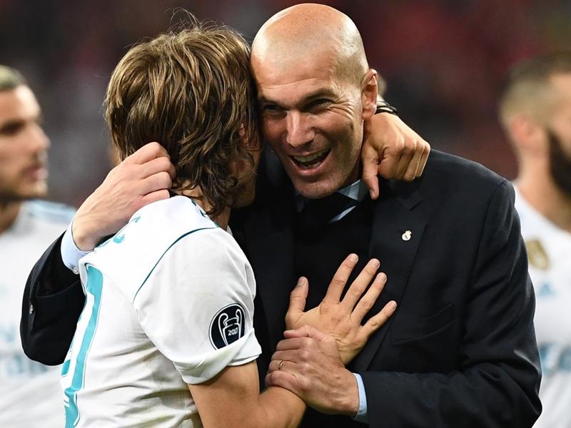 Les réactions de Zinedine Zidane, Raphaël Varane et Sergio Ramos après le sacre du Real Madrid en C1
