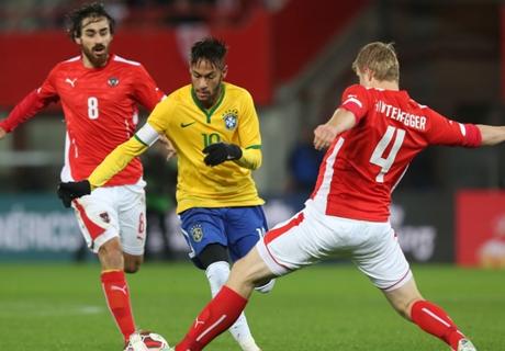 ไม่ง่ายเหมือนนัดก่อน! แซมบ้าเหนื่อยบุกเฉือนออสเตรียหืดจับ 2-1