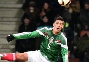 Raul Jimenez Mexico Belarus 11182014