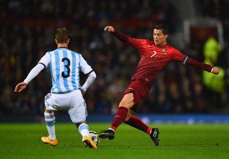 Last-gasp Portugal defeat Argentina