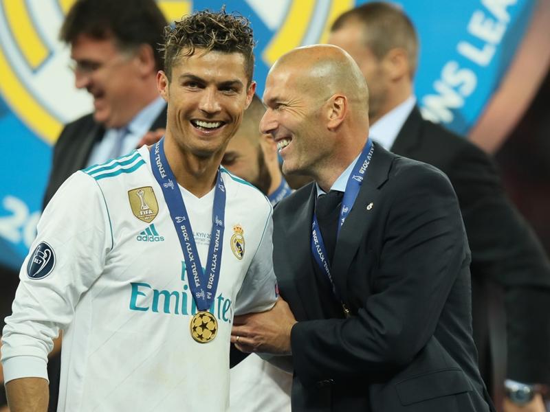 VIDÉO - Zidane évoque déjà le mercato du Real Madrid et le remplaçant de Cristiano Ronaldo : ''On verra en fin de saison''