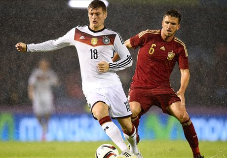 Kroos winner stuns Spain