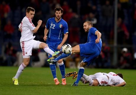 OG.นำชัย!! อัซซูรี่เหนื่อยหนักเปิดรังเถือแอลเบเนียท้ายเกม 1-0